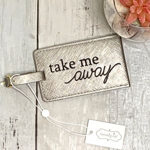 MUD PIE Luggage Tag - NWT